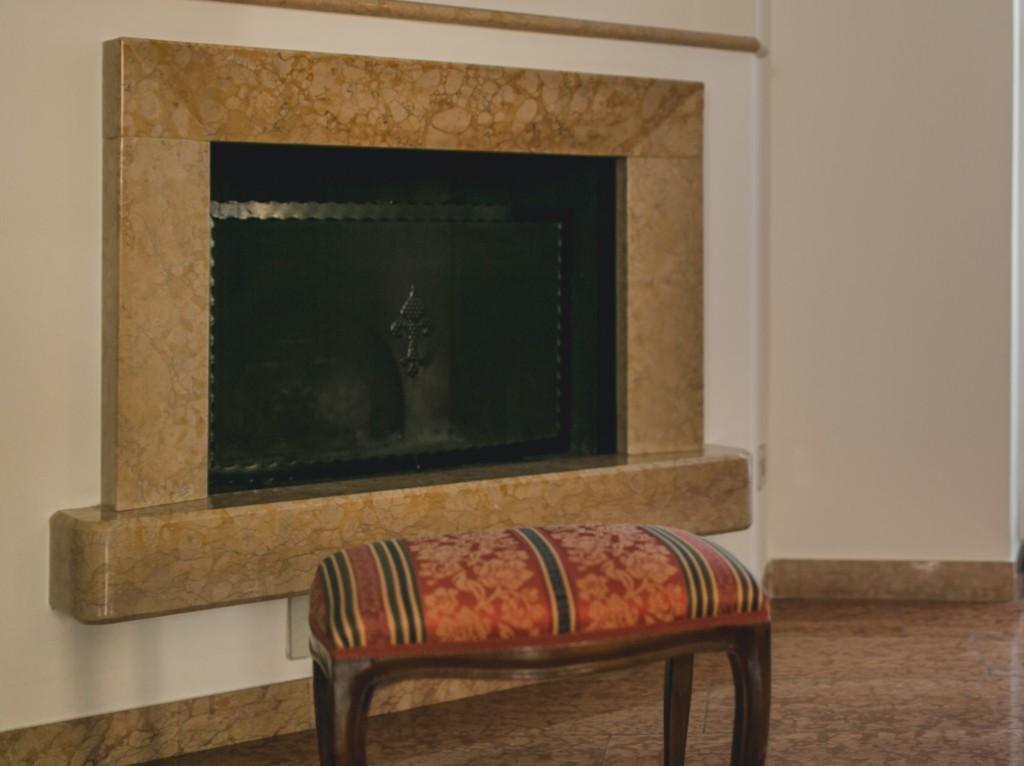 A casa di Tom Valpolicella Verona camino fireplace